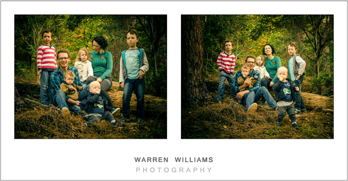 The Williams Family, Newlands Forest-16