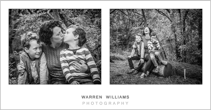 The Williams Family, Newlands Forest-22