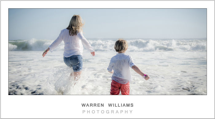 Blouberg family photo shoot with Warren Williams Photography