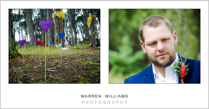 Winery Road Forest wedding