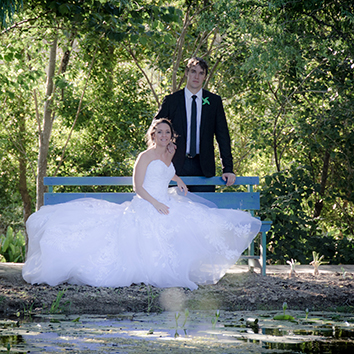 Shaun and Megan, Weltevreden Estate, Stellenbosch