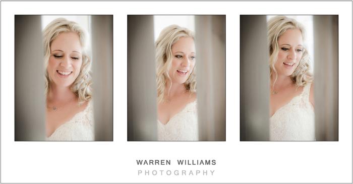 Beautiful bride in wedding dress, Warren Williams Photography