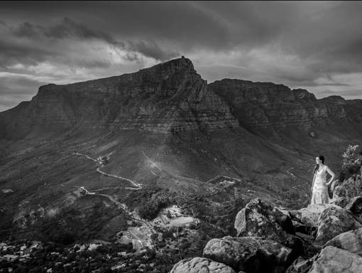 Through the lens Trash the Dress Table Mountain